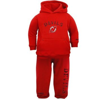 the latest a30b1 b0954 New Jersey Devils Hooded Sweatshirt & Pants Red Infant Baby ...